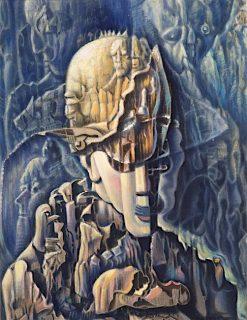 Surreal Portrait | Benjamin Berlin | oil painting