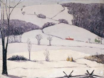 Sunlight in the Valley | Hendrik J. Glintenkamp | oil painting