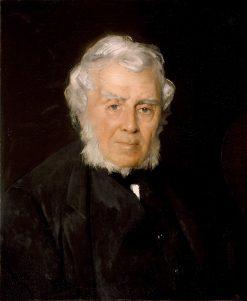 Portrait of Robert Walter Weir | Julian Alden Weir | oil painting