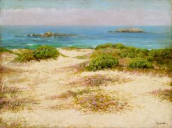 Monterey Coast -  17 Mile Drive | Theodore Wores | oil painting