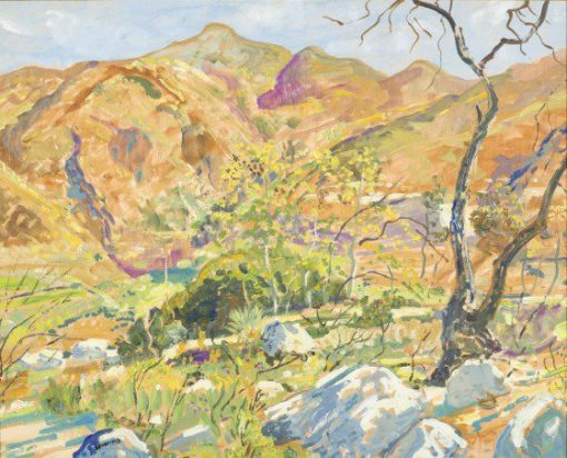 Tujunga Canyon | Walter Elmer Schofield | oil painting