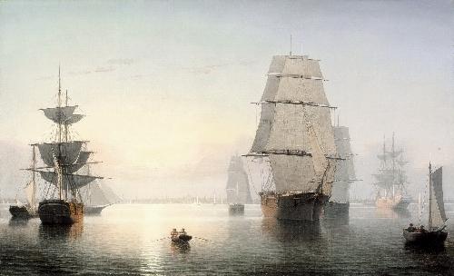Boston Harbor, Sunset | Fitz Henry Lane