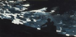 Moonlight on the Water | Winslow Homer | oil painting