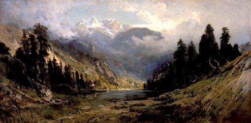 California Pines | William Keith | oil painting