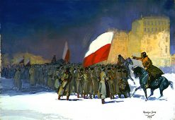 Czechoslovakian Army Entering Vladivostok