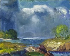 The Coming Storm | George Wesley Bellows | oil painting