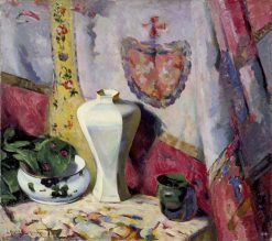 The Altar Cloth   Hugh Henry Breckenridge   oil painting