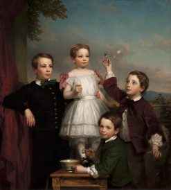 Portrait of Children | George Autustus Baker