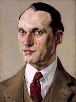 Portrait of Samuel Lustgarten | Walter Ufer | oil painting