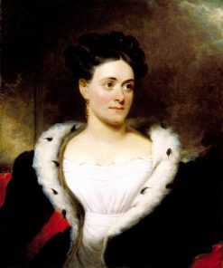 Mrs. James W. Wallack | Henry Inman | oil painting