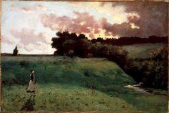 Stormy Landscape | Louis M. Eilshemius | oil painting