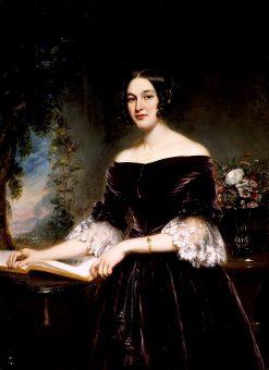 Mrs. Sackett | Samuel Lovett Waldo | oil painting