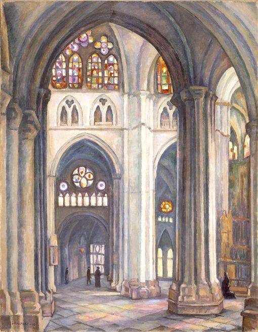 Toledo Cathedral | Samuel Halpert | oil painting