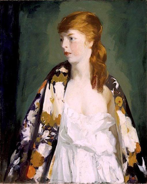 Edna | Robert Henri | oil painting