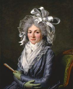 Portrait of Madame de Genlis | Adelaïde Labille-Guiard | oil painting