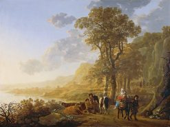 The Flight into Egypt | Aelbert Cuyp | oil painting