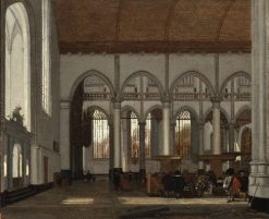 Interior of the Oude Kerk, Amsterdam