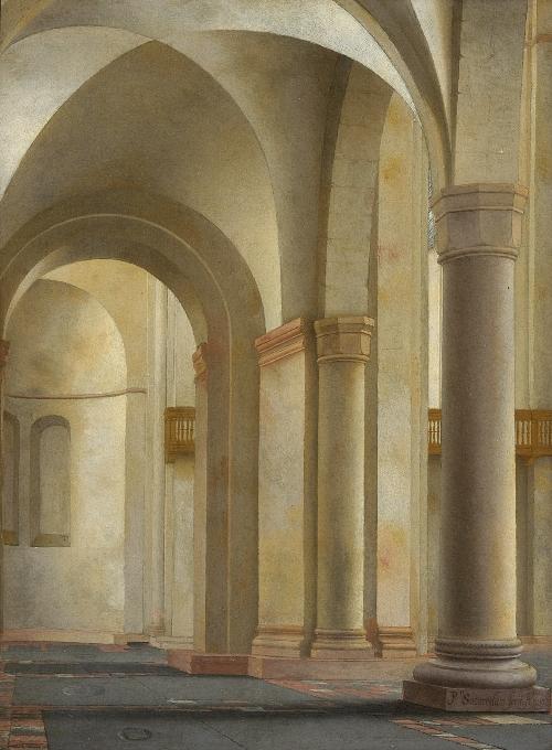 Interior of the Mariakerk, Utrecht
