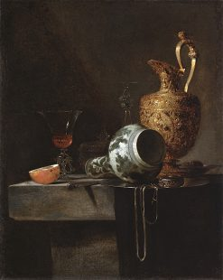 Still Life with a Porcelain Vase