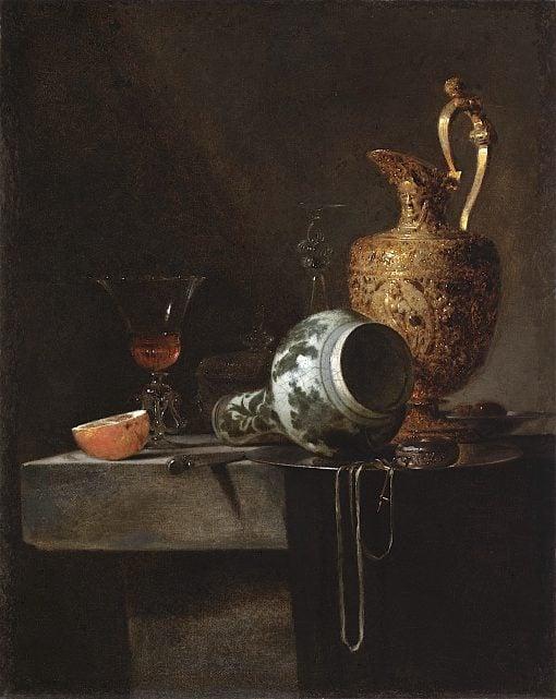 Still Life with a Porcelain Vase