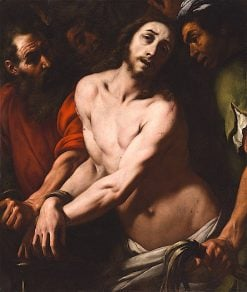 The Flagellation | Daniele Crespi | oil painting