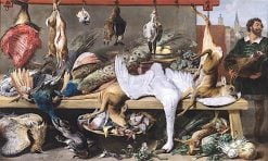 Game Market | Frans Snyders | oil painting