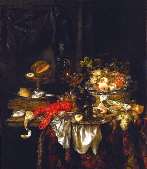 Banquet Still Life | Abraham van Beyeren | oil painting