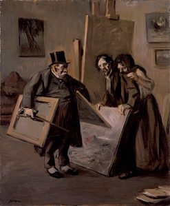 The Picture Dealer | Jean-Louis Forain | oil painting