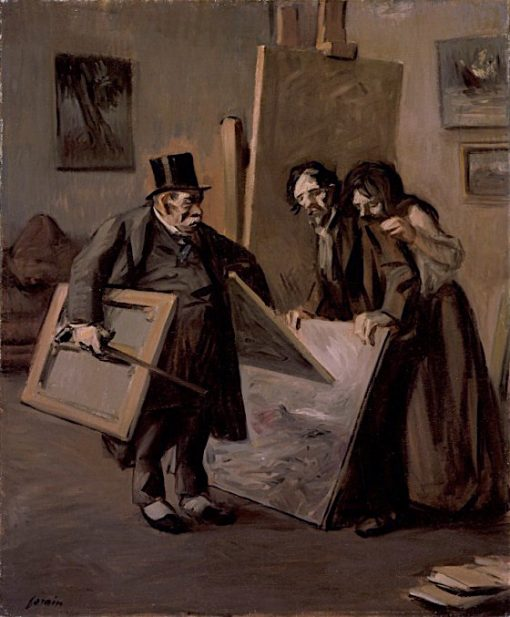 The Picture Dealer | Jean-Louis Forain | oil painting
