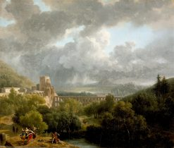 Landscape with an Aqueduct | Nicolas-Antoine Taunay | oil painting