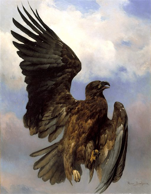The Wounded Eagle | Rosa Bonheur | oil painting