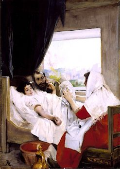 The First Morning (Albert and Charlotte Dubray Besnard and their Son