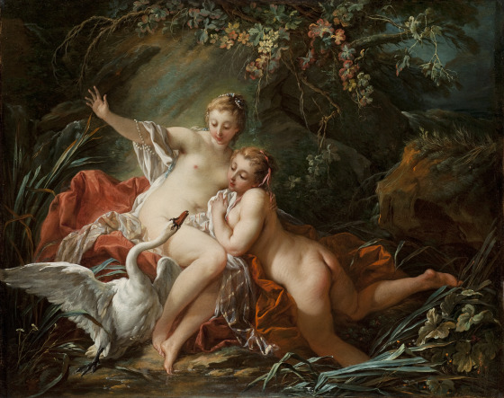 Leda and the Swan | Francois Boucher | oil painting