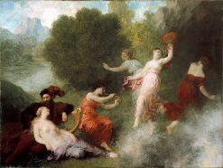 Tannhäuser on the Venusberg | Henri Fantin-Latour | oil painting