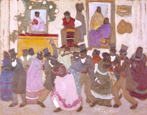 Dancing People -  (Candombe) | Pedro Figari | oil painting