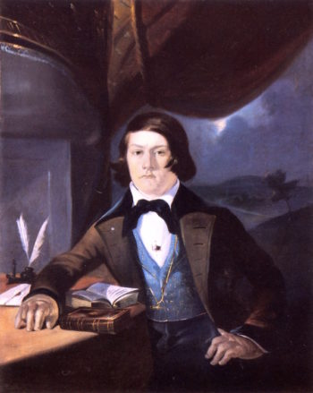 Portrait of a Young Man   William Rimmer   oil painting
