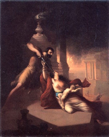 Massacre of the Innocents   William Rimmer   oil painting