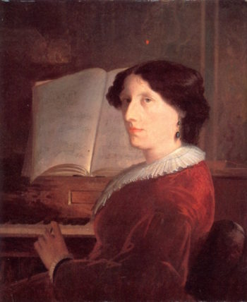 Mrs. Robert Restiaux Kent | William Rimmer | oil painting
