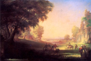 English Hunting Scene | William Rimmer | oil painting