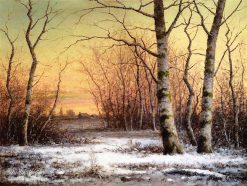 Winter | Carl Christian Brenner | oil painting