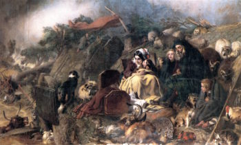 Flood in the Highlands | Sir Edwin Landseer | oil painting
