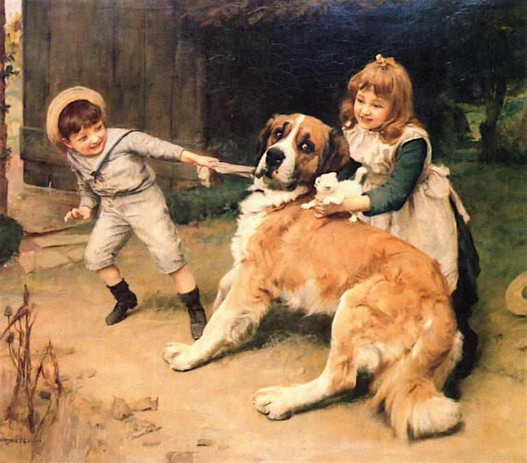 Victims | Arthur John Elsley | oil painting