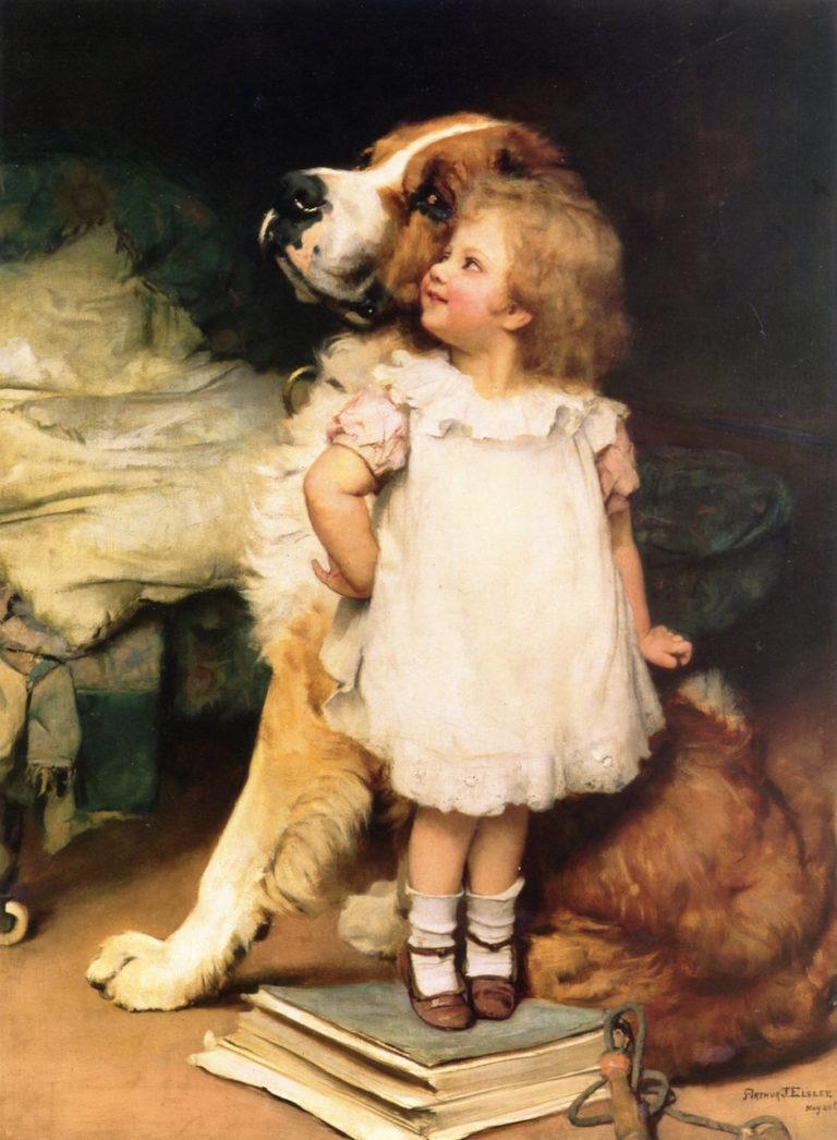 Ise Biggest | Arthur John Elsley | oil painting