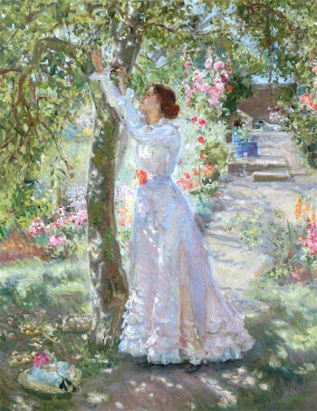 The Garden | Ethel Walker | oil painting
