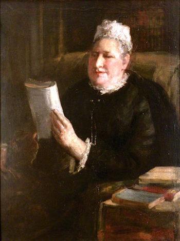 The Honourable Mrs Adams | Ethel Walker | oil painting