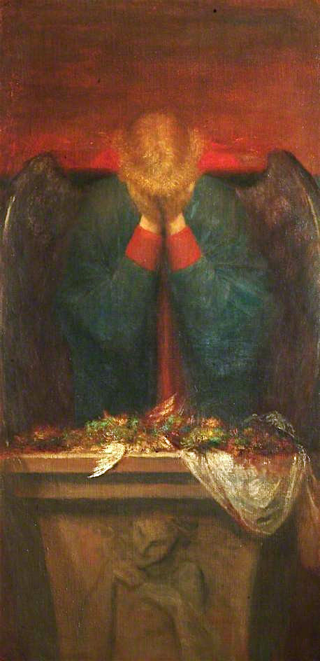 A Dedication | George Frederic Watts | oil painting