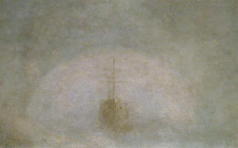 A Sea Ghost | George Frederic Watts | oil painting