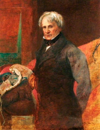 Admiral Lord Lyons | George Frederic Watts | oil painting
