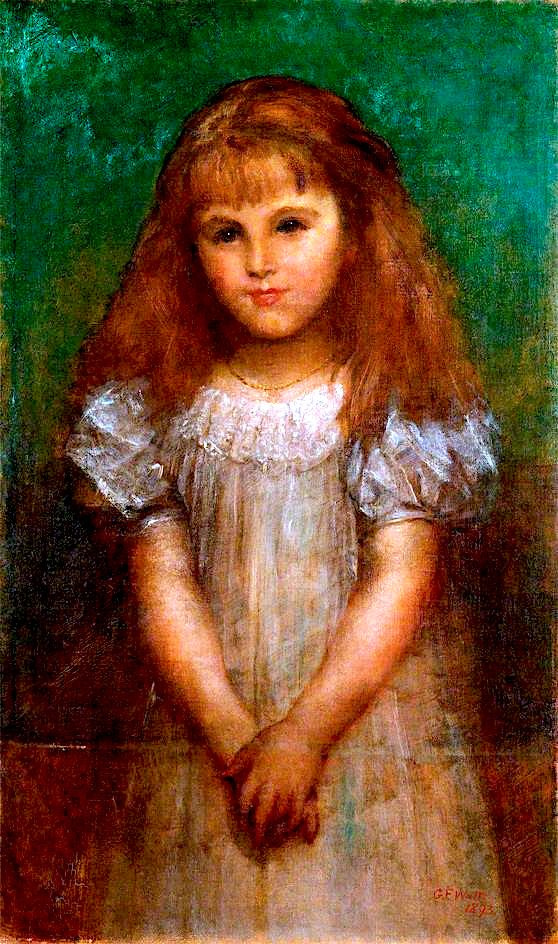 Agathonike Helen Ionides | George Frederic Watts | oil painting