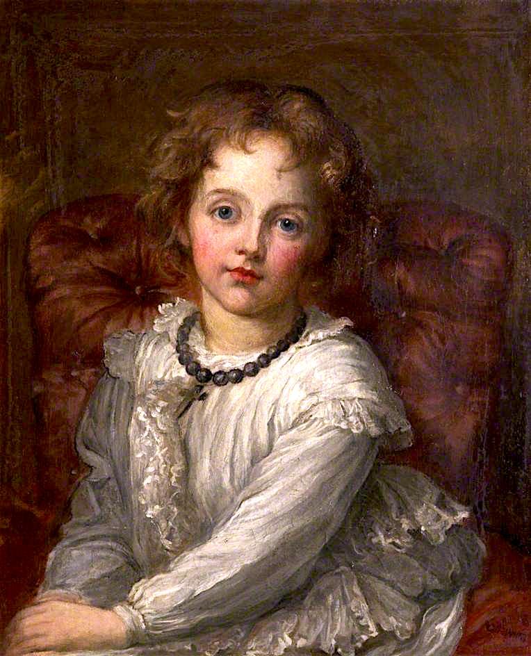 Caroline Muriel Callander | George Frederic Watts | oil painting